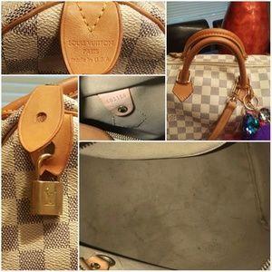 Louis Vuitton Bags - 🕹 Louis Vuitton Damier Azur Speedy 35